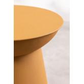 Tavolino rotondo in metallo (Ø37 cm) Bayi, immagine in miniatura 4
