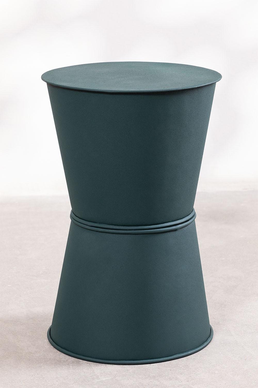 Tavolino in metallo (Ø33 cm) Albi, immagine della galleria 1
