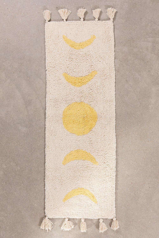 Tappetino da bagno in cotone (130x40 cm) Nocti, immagine della galleria 1