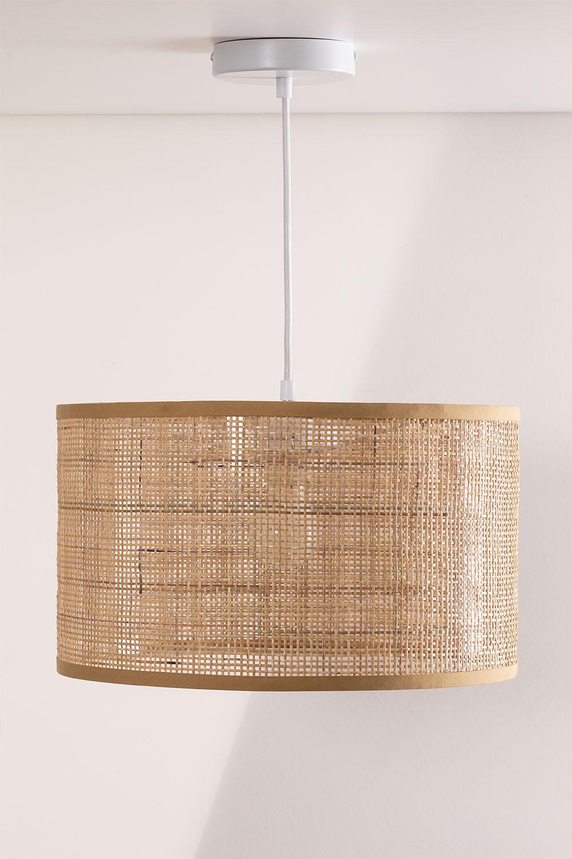 Lampada da soffitto in rattan Ytse , immagine della galleria 1