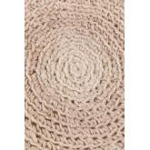 Sgabello rotondo in lana e legno Jein, immagine in miniatura 4