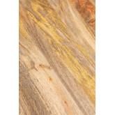 Tavolo da pranzo rettangolare in legno (200x91cm) Nathar Style, immagine in miniatura 6