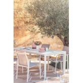 Tavolo Da Giardino Rettangolare In Alluminio Allungabile (180-240x100 cm) Starmi, immagine in miniatura 1