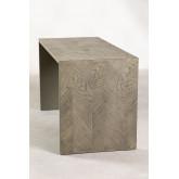 Tavolo da divano in legno di olmo Belah, immagine in miniatura 3