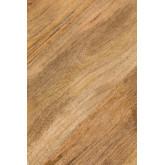 Tavolino rotondo in legno riciclato e acciaio (Ø62 cm) Ket, immagine in miniatura 5