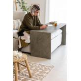 Tavolo da divano in legno di olmo Belah, immagine in miniatura 1