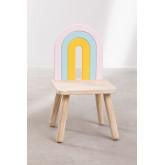 Sedia in legno Mini Rainbow Kids, immagine in miniatura 5