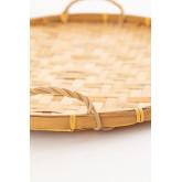 Vassoio decorativo in bambù Sikar, immagine in miniatura 3