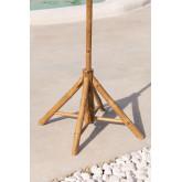 Ombrellone in bambù (Ø130 cm) Quinn, immagine in miniatura 2