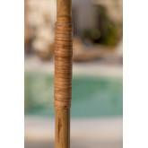 Ombrellone in bambù (Ø130 cm) Quinn, immagine in miniatura 4