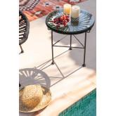 Tavolo Rotondo in corda  (Ø35 cm) Acapulco , immagine in miniatura 1