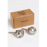 Set di 2 maniglie in vetro Weut, immagine in miniatura 2