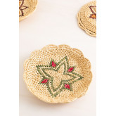 Confezione da 3 piatti decorativi Siona, immagine in miniatura 5