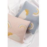 Cuscino quadrato in cotone (35x35 cm) Ellie Kids, immagine in miniatura 6