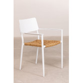 Pack 2 sedie da giardino in alluminio Amadeu, immagine in miniatura 2