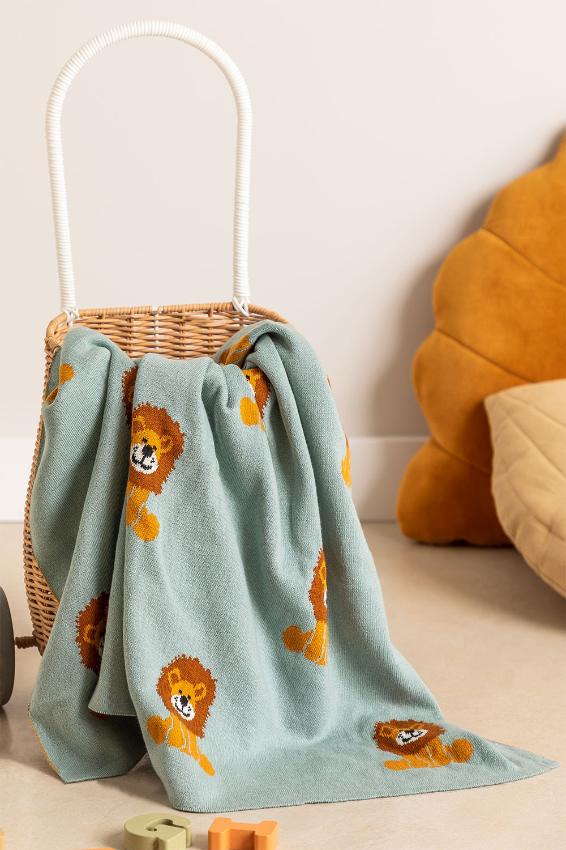 Coperta in cotone per bambini Meru, immagine della galleria 1
