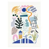 Set di 2 Posters decorativi (50x70 cm) Zity, immagine in miniatura 2