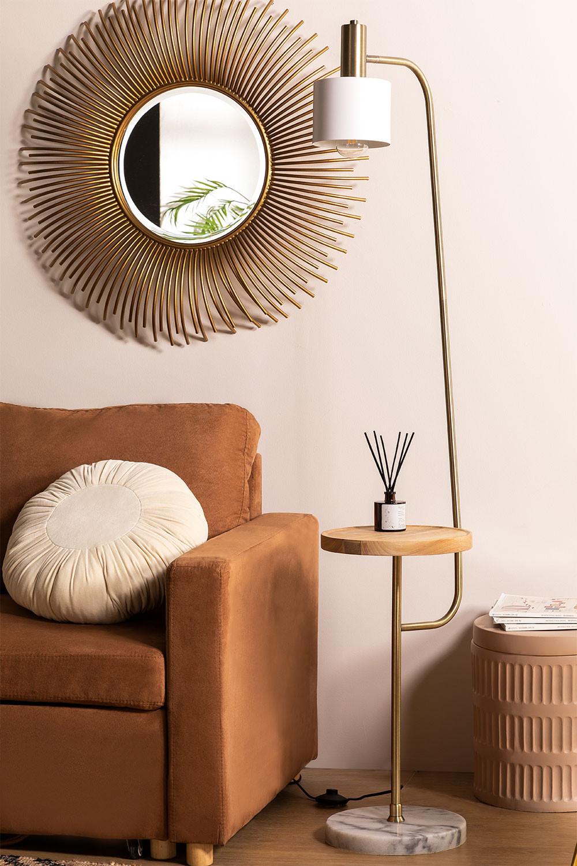 Lampada da terra con tavolo Agueda, immagine della galleria 1