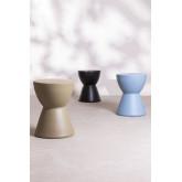 Tavolino rotondo in ceramica Tao, immagine in miniatura 6