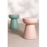 Tavolino rotondo in ceramica Karus, immagine in miniatura 5