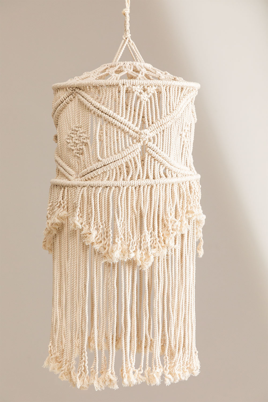 Paralume Teala Macrame, immagine della galleria 1