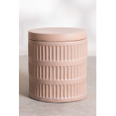 Tavolino rotondo in ceramica Blaci, immagine in miniatura 3