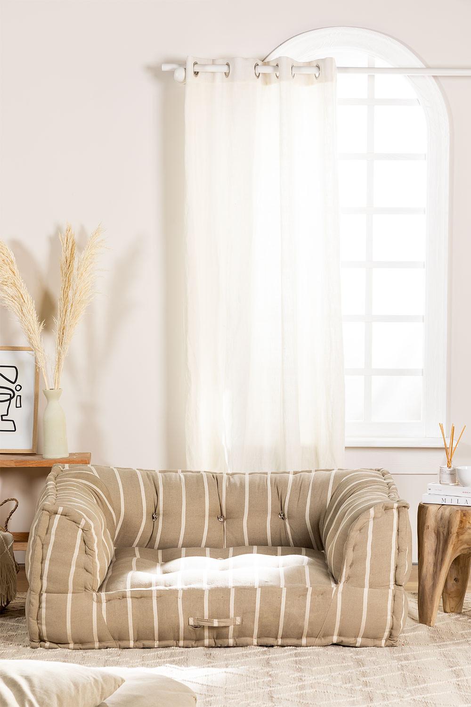 Divano modulare in cotone Dhel Boho, immagine della galleria 1