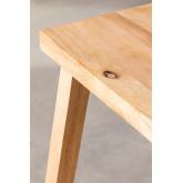 Sgabello alto in legno Arlan, immagine in miniatura 5
