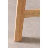 Sgabello alto in legno Arlan, immagine in miniatura 6
