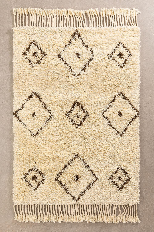 Tappeto in cotone e lana (215x125 cm) Ariana, immagine della galleria 1