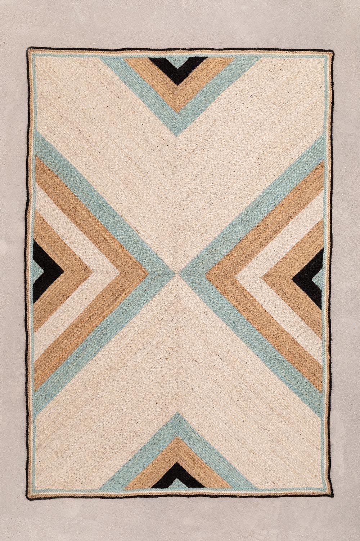 Tappeto in juta naturale (246x160 cm) Saina, immagine della galleria 1