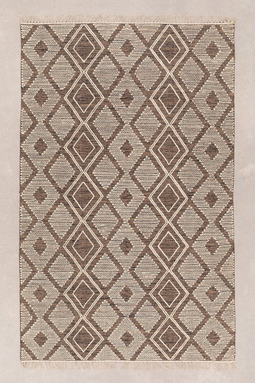 Tappeto in cotone e lana (253x161 cm) Hiwa, immagine della galleria 1