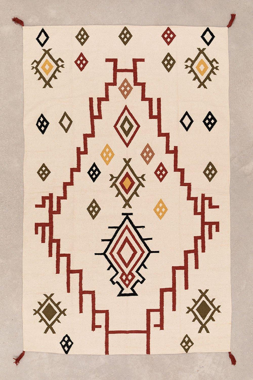 Tappeto in cotone (243x161 cm) Rilel, immagine della galleria 1