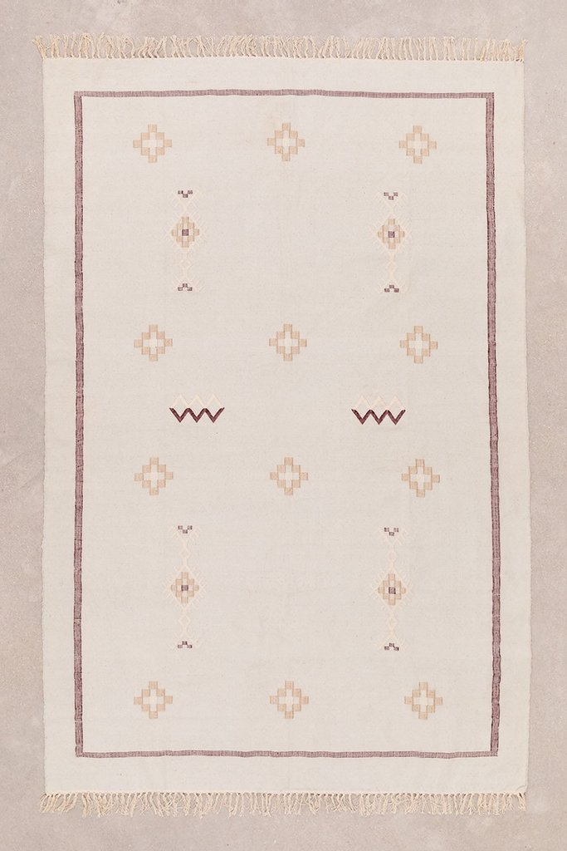 Tappeto in cotone (240x160 cm) Lesh, immagine della galleria 1
