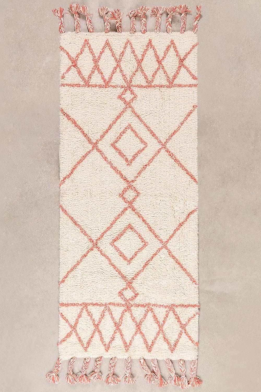 Tappetino da bagno in cotone (144x51,5 cm) Pere, immagine della galleria 1