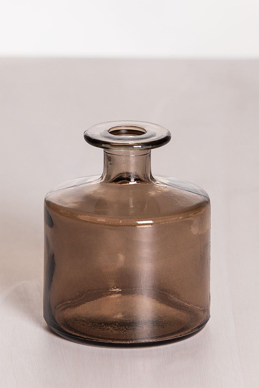 Vaso Vetro Riciclato 12 cm Pussa, immagine della galleria 1