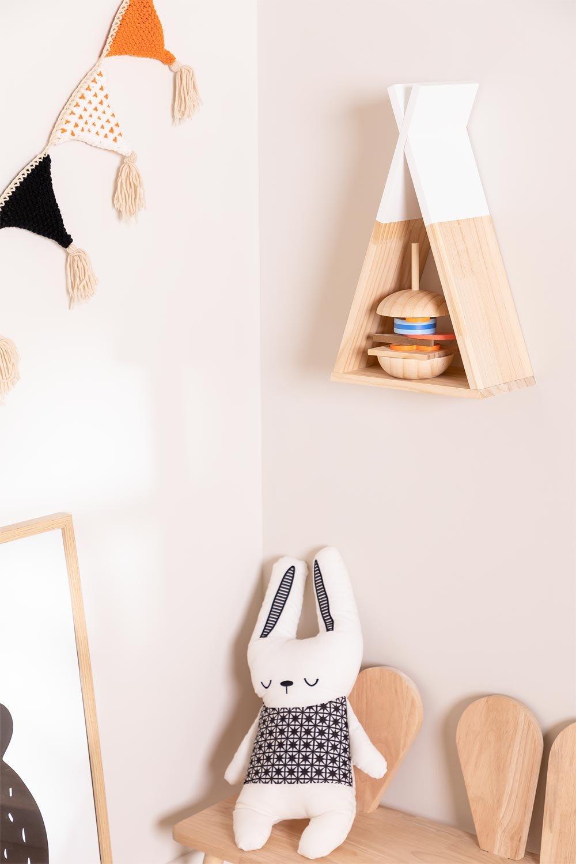 Mensola da parete in legno Sius Kids , immagine della galleria 1