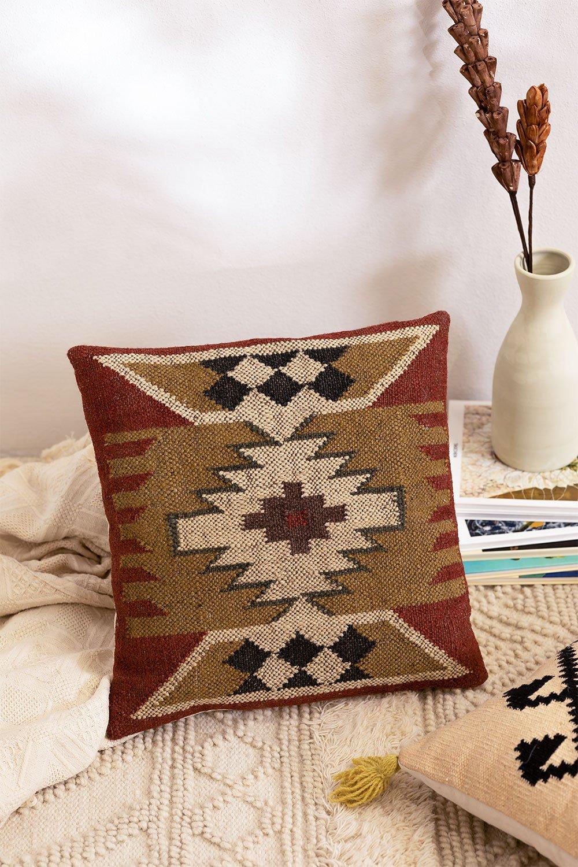 Cuscino quadrato in cotone (45x45 cm) Isset, immagine della galleria 1
