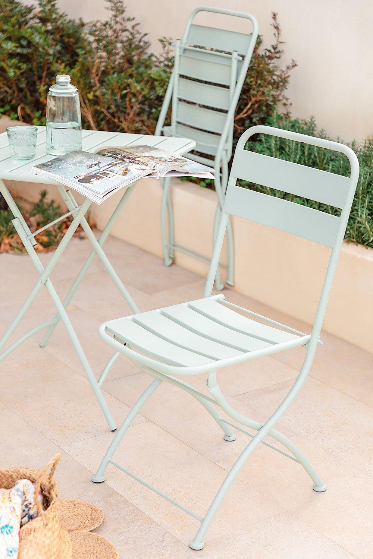 Sedia da giardino pieghevole Janti, immagine della galleria 1