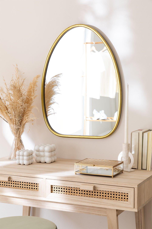 Specchio da parete in metallo Ewlin, immagine della galleria 1