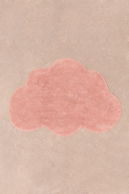 Tappeto in cotone (69x100 cm) Cloud Kids, immagine della galleria 1