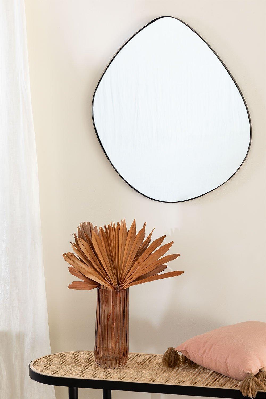 Specchio da parete in metallo (67x60 cm) Astrid, immagine della galleria 1