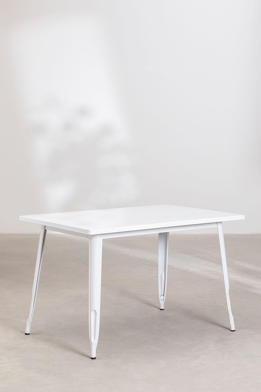Tavolo Rettangolare in Accio (120x80) LIX , immagine della galleria 1