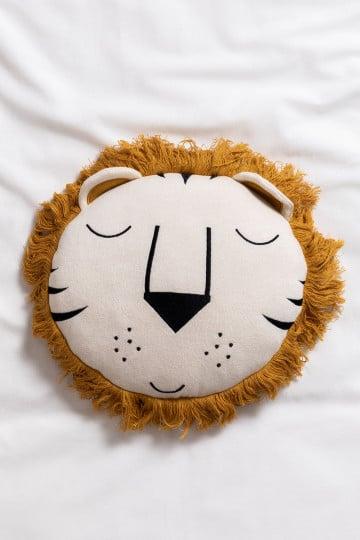 Cuscino rotondo in cotone (Ø30 cm) Suky