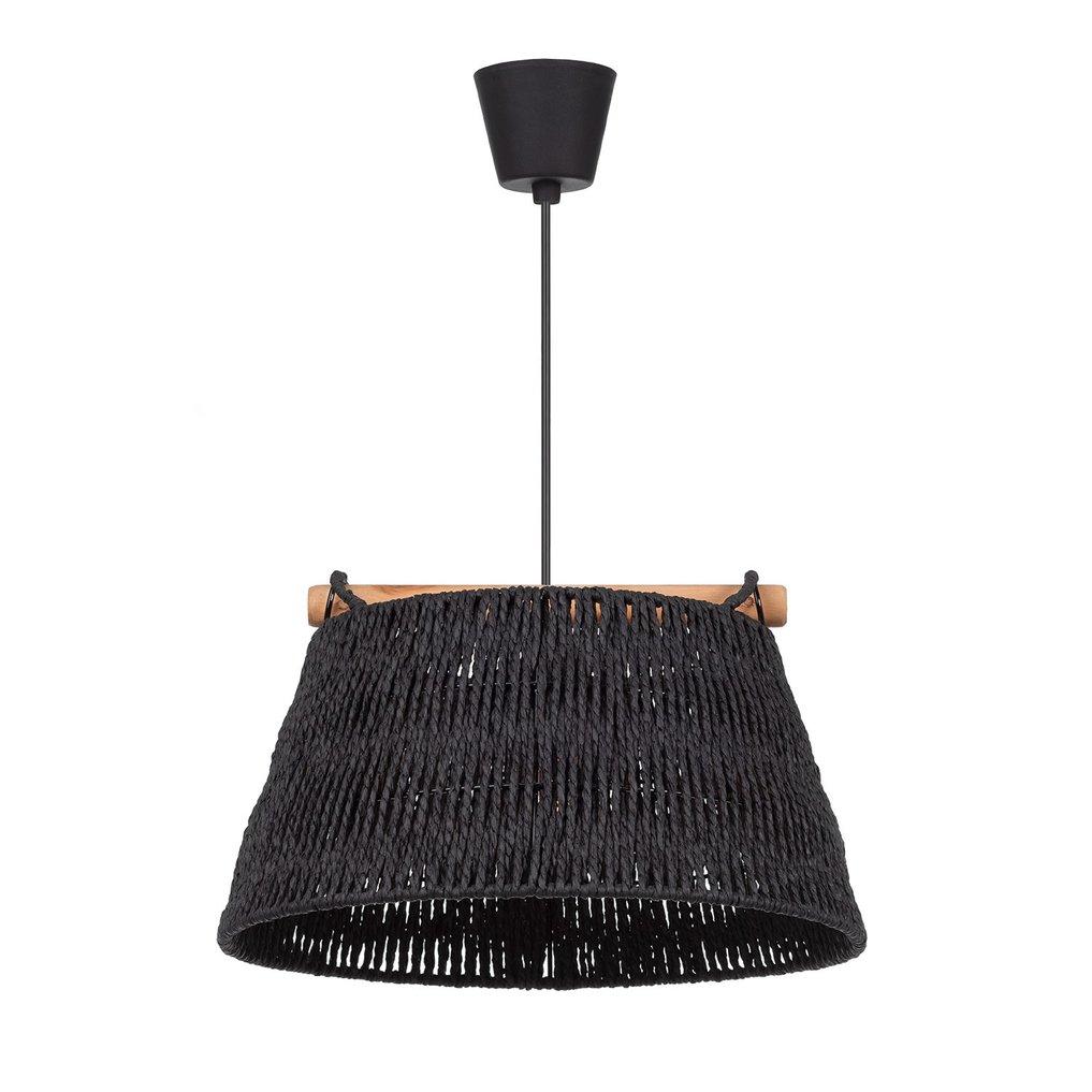 Lampada da soffitto in carta intrecciata Druk, immagine della galleria 1