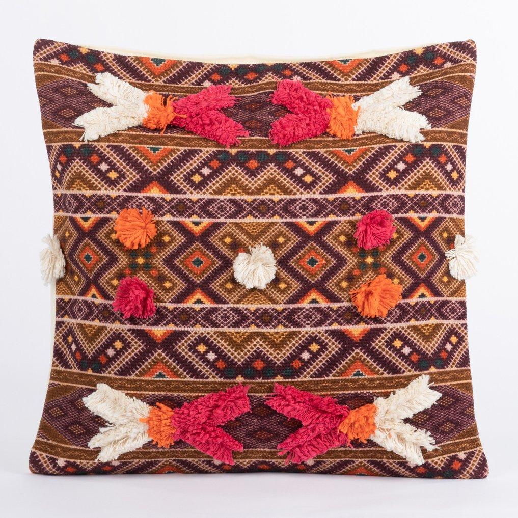 Federa Cuscino Quadrato in cotone (50x50 cm) Kila, immagine della galleria 1