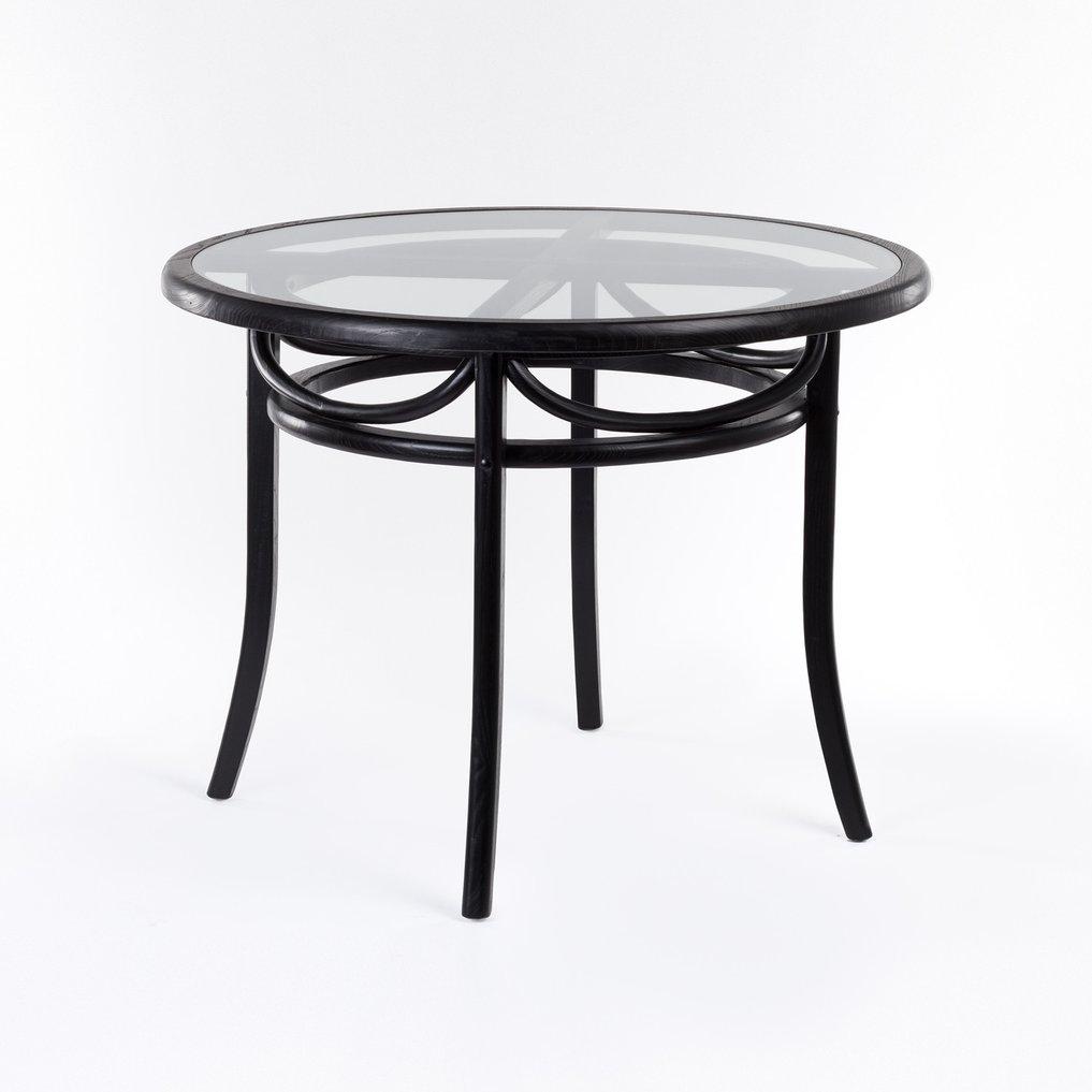 Tavolo da Pranzo Rotondo in Legno (Ø100 cm) Thon, immagine della galleria 1