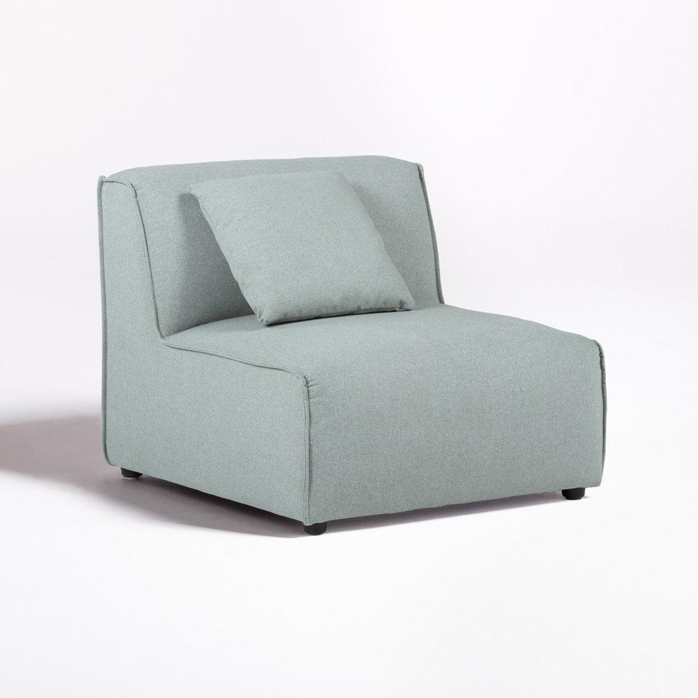 Poltrona Centro per divano componibile in Tessuto Aremy, immagine della galleria 1