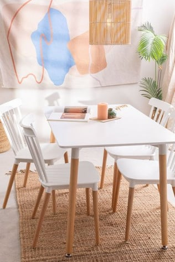 Set tavolo reale e 4 sedie reali