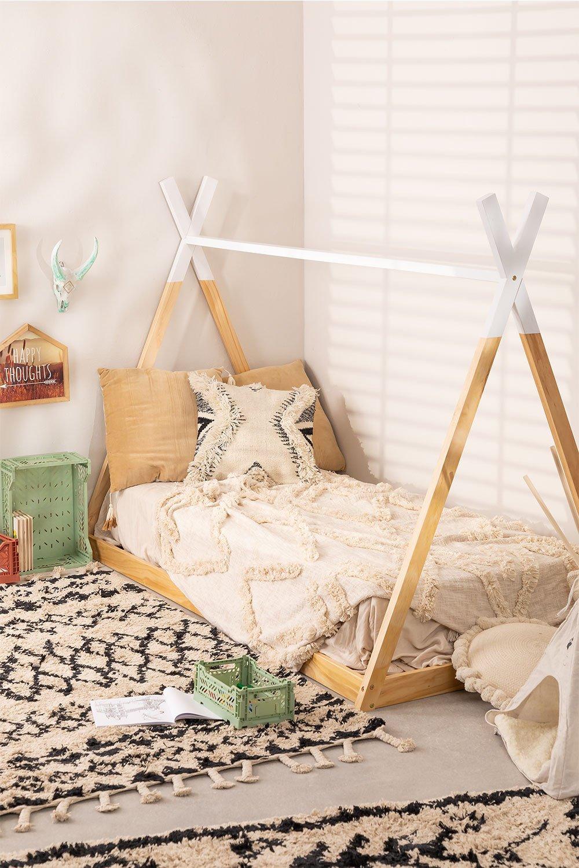 Letto in legno per materasso da 90 cm Typi Kids, immagine della galleria 1